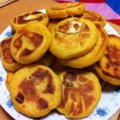 香甜板栗玉米饼