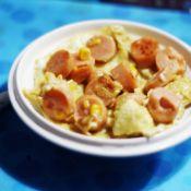 玉米火腿煎蛋