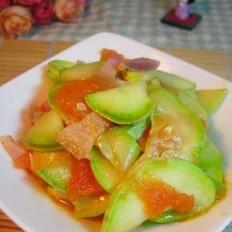 咸肉番茄角瓜
