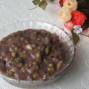 黑米绿豆百合粥