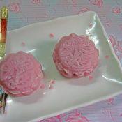 栗蓉紫薯冰皮月饼
