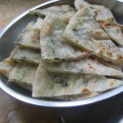 香葱生菜煎饼