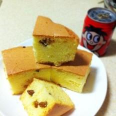 葡萄干酸奶戚风蛋糕