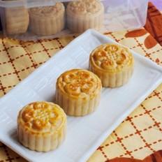 广式白豆沙月饼