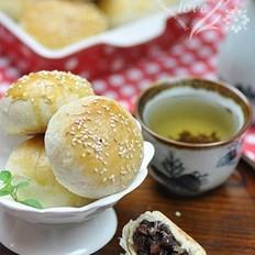 蜜豆酥皮月饼