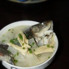 冬瓜腐竹鲫鱼汤