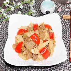 五花肉杏鲍菇(10分钟快手菜