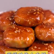 莲藕鸡胸小肉饼