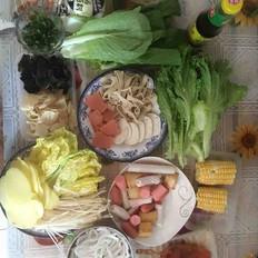 海底捞菌汤火锅