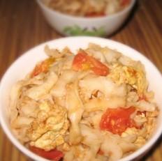 西红柿鸡蛋炒刀削面
