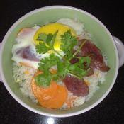 鸡蛋腊肠�h饭