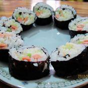 素蔬紫菜包饭