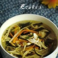 爽口海带丝汤