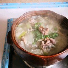 冬瓜羊肉蘑菇汤