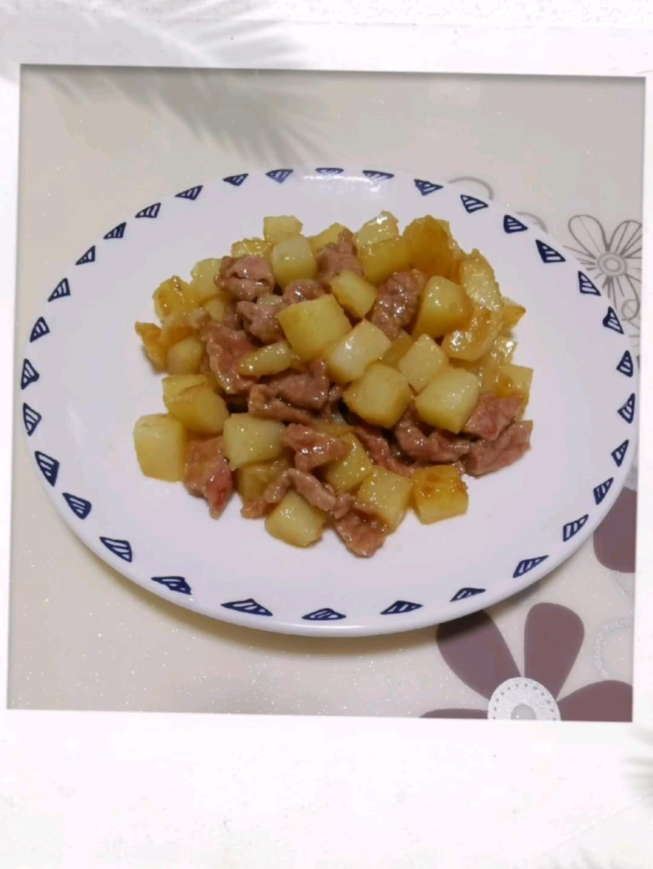 土豆炒牛肉
