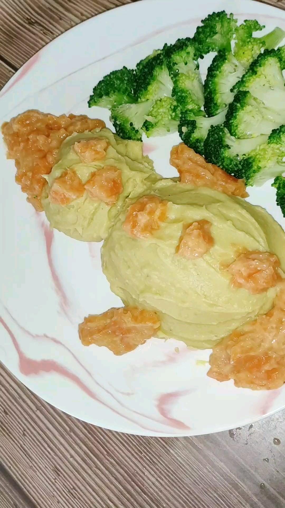 红薯芋头泥