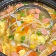 暖心暖胃汤