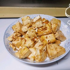 耗油炒豆腐