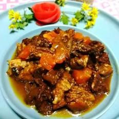 西红柿烧肉