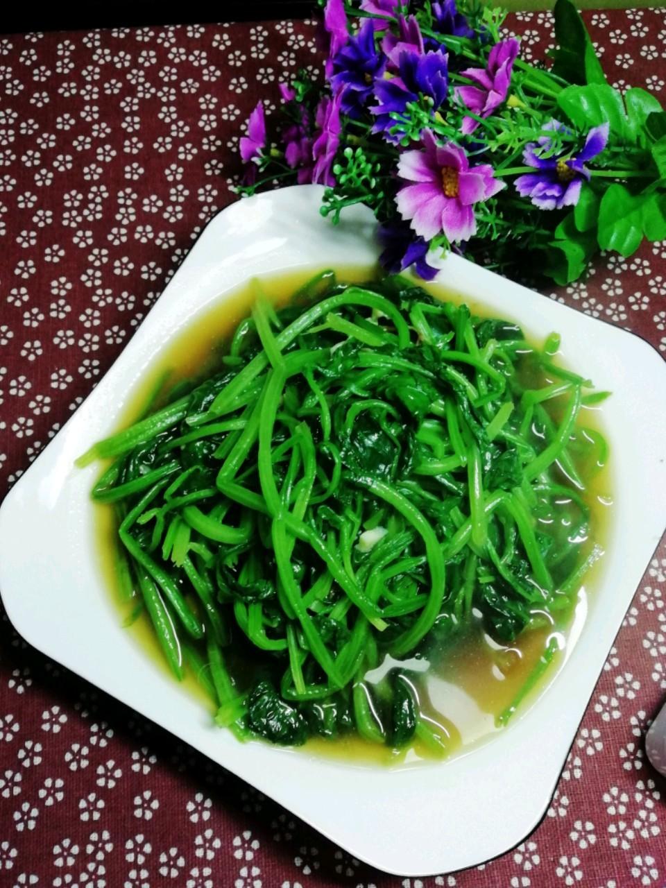 蒜香小菠菜