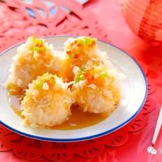 银耳虾球 宝宝辅食食谱