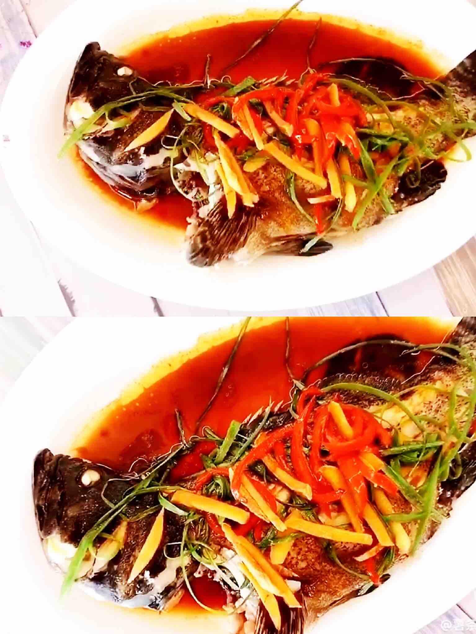 清蒸龙趸鱼