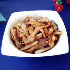大白菜烧平菇