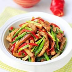 韭菜香干炒羊肉