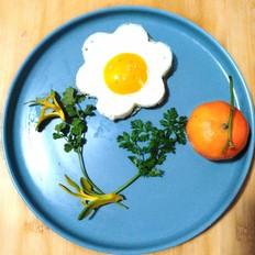 煎花朵鸡蛋