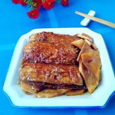 杏鲍菇烧带鱼