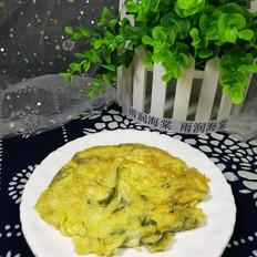 香椿鱼鸡蛋饼