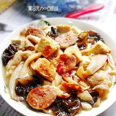 菇耳冻豆腐