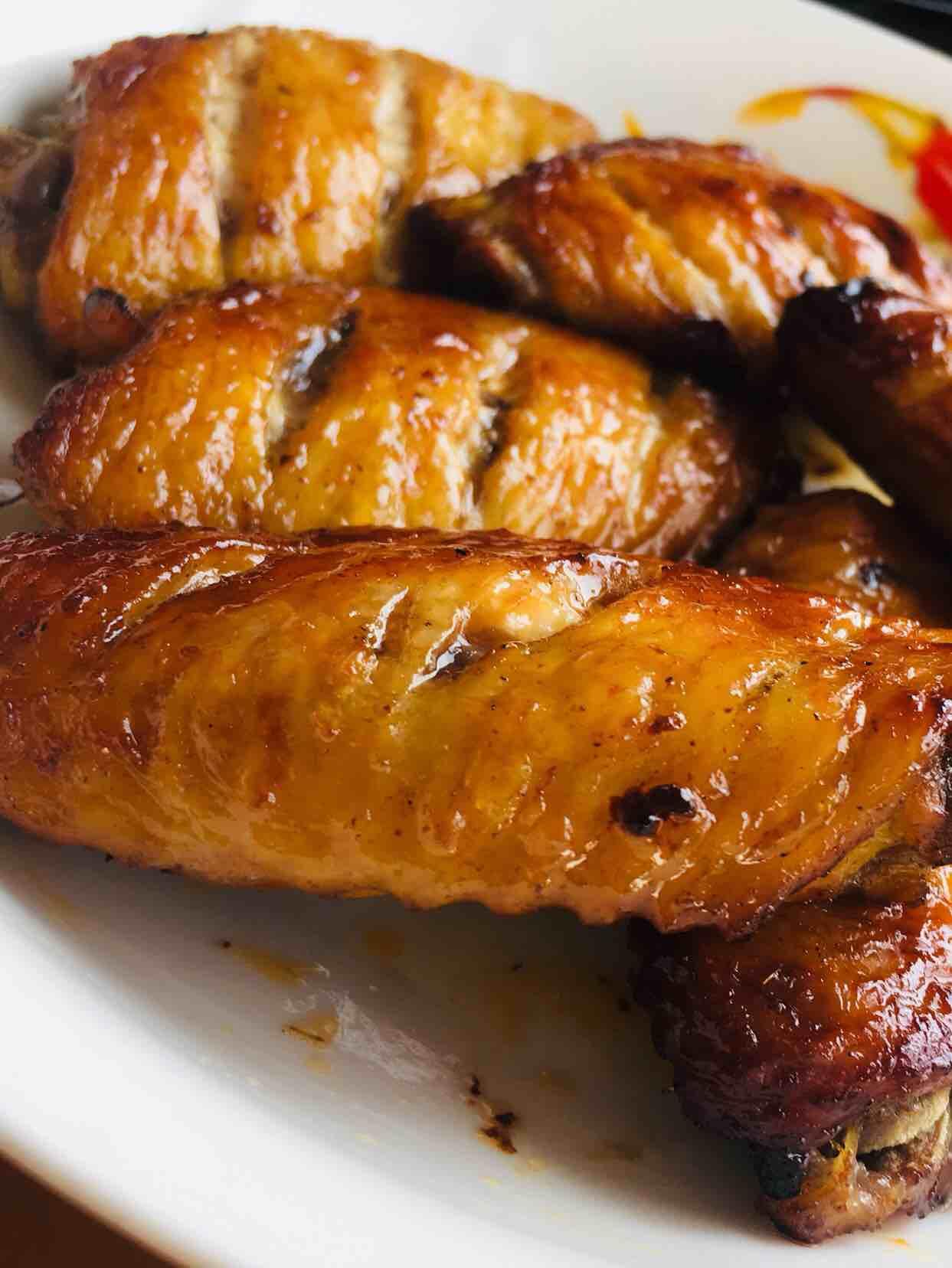 烤鸡翅空气炸锅版