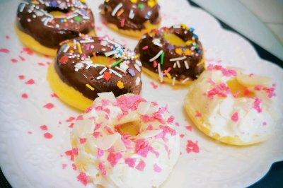 治愈系甜美的甜甜圈