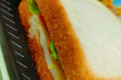 健康早餐 鸡蛋三明治