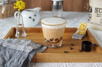 自己在家做爆红款的鸳鸯珍珠奶茶