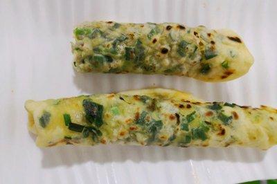 营养早餐 韭菜饼/卷