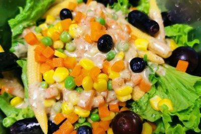 玉米笋缤纷沙拉