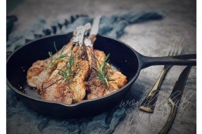 晚餐新西兰羊排