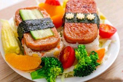 午餐肉饭团