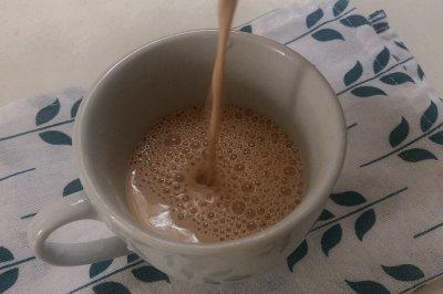 姨妈期也能喝的奶茶:桂圆红枣奶茶