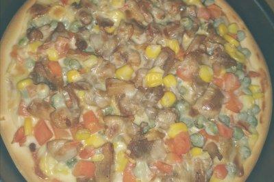 奥尔良鸡肉披萨(简易版)