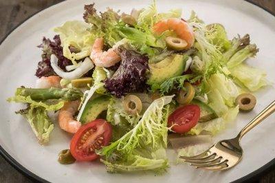 简单好做的蔬菜沙拉