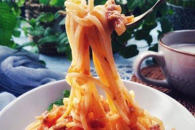 番茄肉酱意面 完胜西餐厅