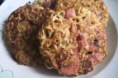 神兽早餐:快手泡面饼