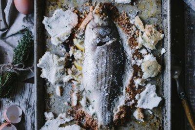 西班牙地中海盐烤鱼