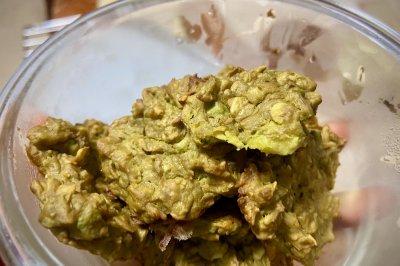牛油果燕麦饼干