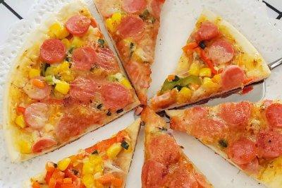 电饼铛版速食披萨