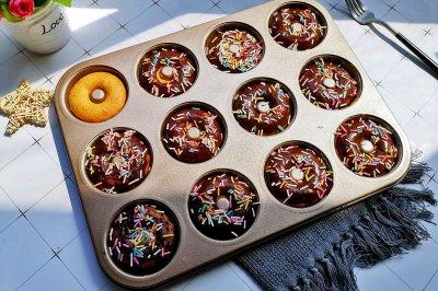宝宝最爱的巧克力甜甜圈
