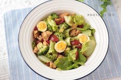 低脂低卡减脂餐鸡肉沙拉